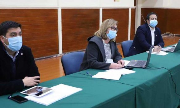 Se constituye Mesa Regional COVID 19-Calidad del Aire para enfrentar contaminación de O´Higgins en pandemia