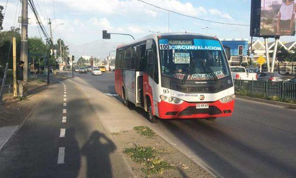 Transporte público se mantendrá operativo en Rancagua y Machalí durante cuarentena total