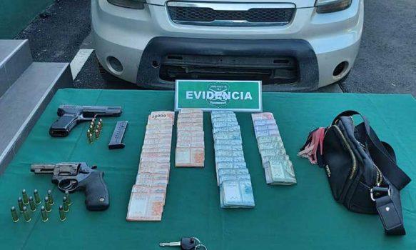 Carabineros de Rengo detuvo a cuatro sujetos por porte ilegal de arma de fuego y receptación
