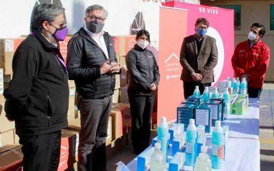 Codelco realiza importante donación a Salud Primaria Municipal de Rancagua