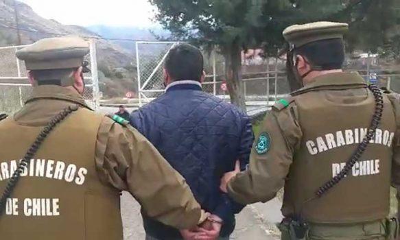 Detenido sujeto que habría robado cables de cobre en Coya