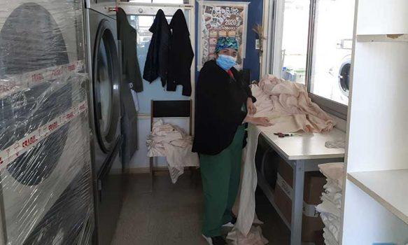 El desconocido apoyo de lavandería a la atención clínica del Hospital de Pichilemu