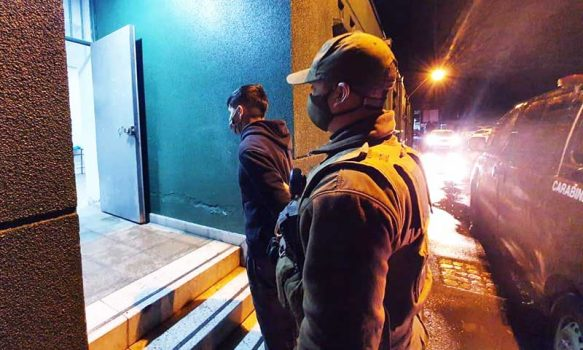 En Graneros, carabineros detuvo a sujeto por microtráfico