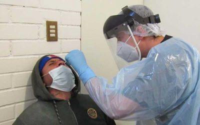 En Rengo se realiza masiva pesquisa de PCR en una semana