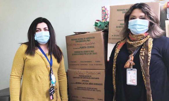 Funcionarios del Hospital de Graneros impulsan campaña de ayuda de usuarios vulnerables