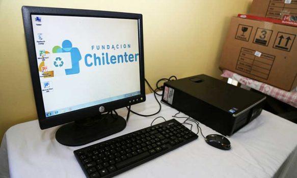 Fundación Chilenter: Con 130 computadores serán beneficiados 13 colegios vulnerables de la Región de O'Higgins