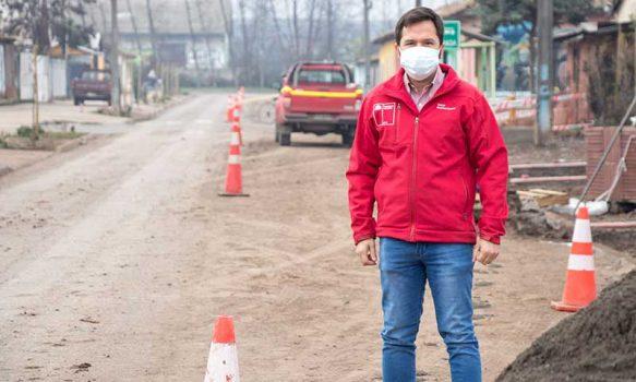 Minvu inicia trabajos de conservación de vías en 28 comunas de la región