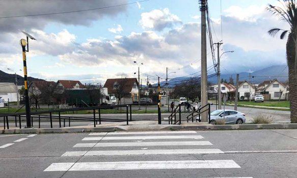 Municipalidad de San Fernando licita proyecto de semaforización peatonal en sector de villa Jardines del Sur
