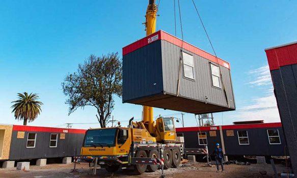 Nuevo hospital modular construido en tiempo récord en Rengo permitirá mitigar la demanda por COVID-19