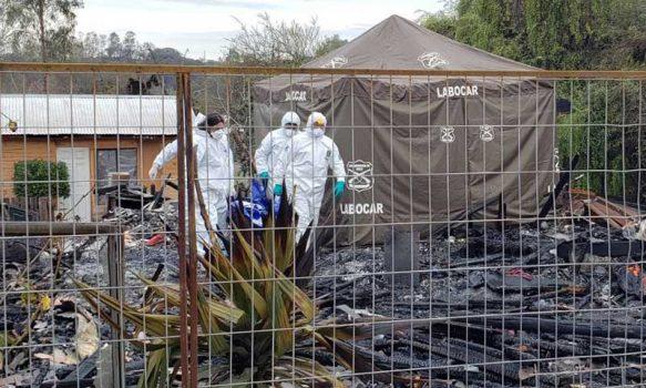 Requínoa: Joven fallece en incendio