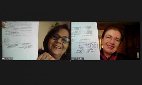 Seremi de las Culturas, las Artes y el Patrimonio y de la Mujer y Equidad de Género firman convenio de colaboración