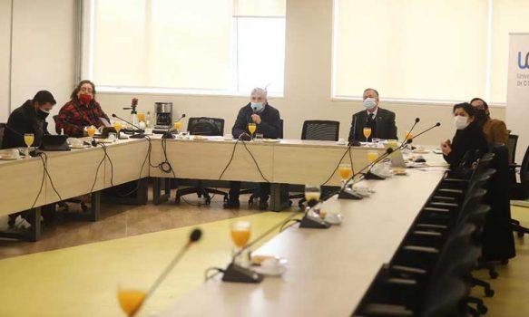 Académicos UOH presentan avances de proyectos de investigación ante Comisión de Educación del Core