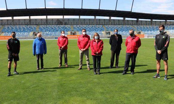Autoridades dieron el visto bueno al regreso del fútbol en el estadio El Teniente