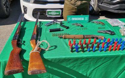 Carabineros del OS7 desmantelan importante banda de narcotraficantes en la provincia de Colchagua