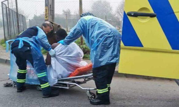 COVID-19: Sujeto haitiano se arrancó del Hospital de Santa Cruz