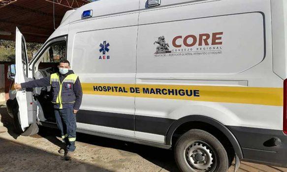 Hospital de Marchigüe coordina traslado de pacientes para tratamientos