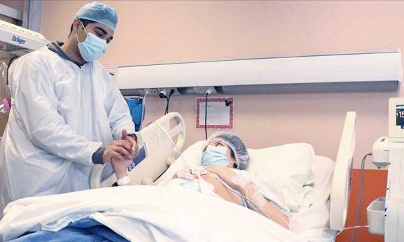 Hospital Regional practica test PCR obligatorio a pacientes embarazadas