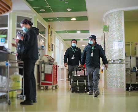 La ingeniería al servicio del Hospital Regional en pandemia