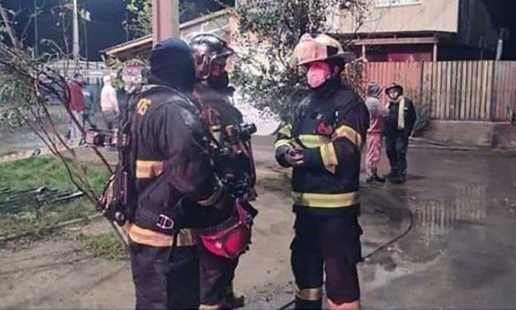 Malloa: Incendio en la Puntilla de Panquehue