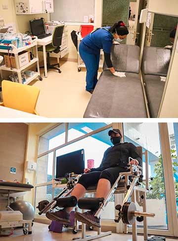 Medicina Física y Rehabilitación retoma gradualmente atenciones presenciales