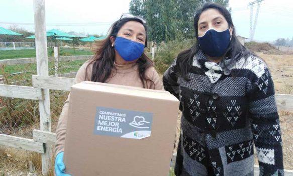 Mostazal: Dirigentes vecinales, comercio local y Colbún se unen para distribuir canastas de alimentos entre familias vulnerables