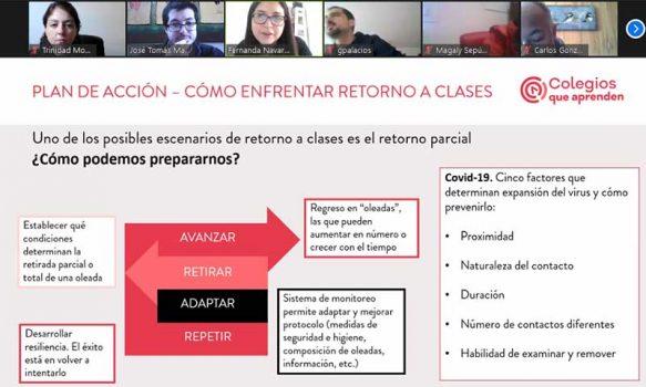 Mostazal: preparan a directivos y equipos educacionales para enfrentar crisis