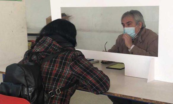 Municipalidad de Rancagua habilita liceo Diego Portales para atención por retiro del 10% de las AFP