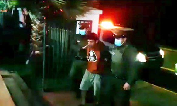 Navidad: Carabineros detienen a sujeto que asaltó a un menor de edad