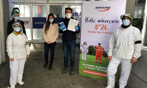 Pichidegua: Hospital recibe aporte de trabajadores de empresa privada