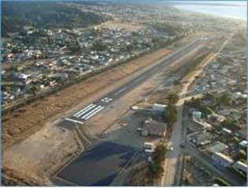 Pichilemu: Directora nacional de Aeropuertos MOP anunció reparación de pista del aeródromo