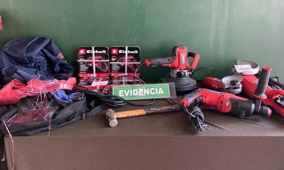 Rancagua: Detenidos por robo a local comercial