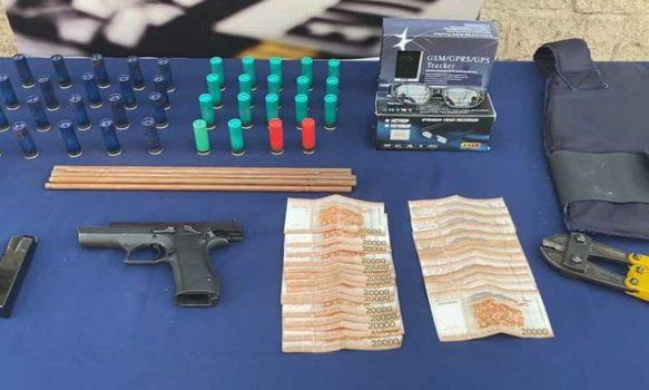 Rancagua: Detienen a sujeto con drogas, armas y municiones