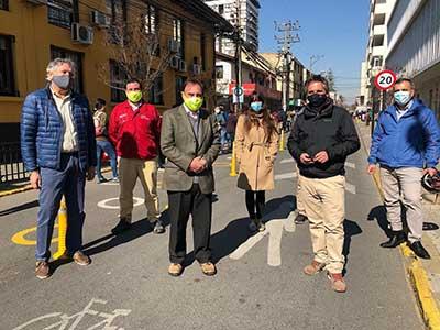 Rancagua: Inauguran estacionamientos de bicicletas en estación de Metrotren