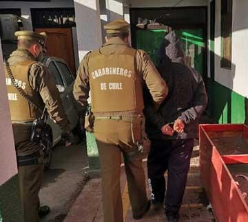 Rancagua: Intensas diligencias de Carabineros permitieron aclarar robo que afectó a vivienda