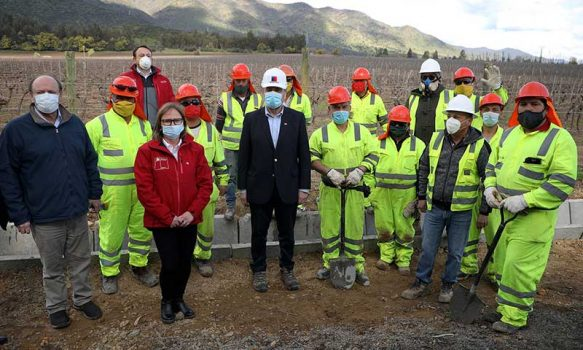Región de O'Higgins: Ministro de Obras Públicas anuncia obras de impacto y desarrollo