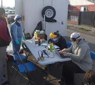 Rengo: Departamento de salud realiza exámenes preventivos a recolectores de residuos domiciliarios
