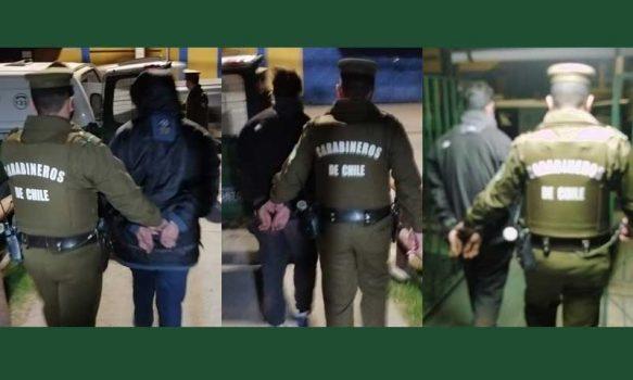 Requínoa: Detienen a tres personas por robo