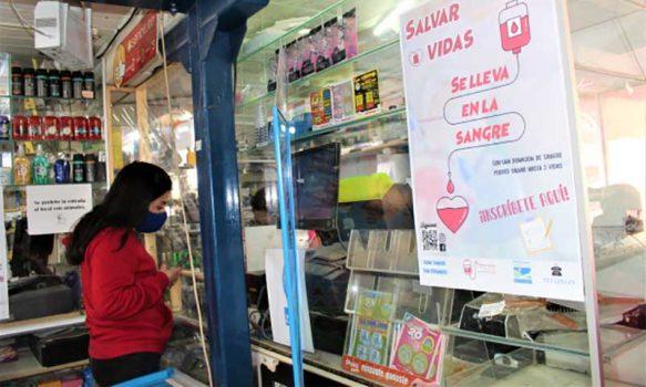 San Fernando: Negocios y almacenes de barrio inscribirán para donar sangre