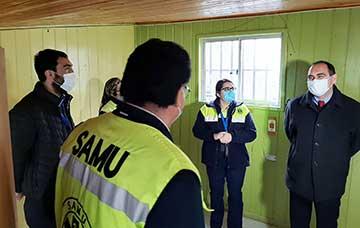 San Fernando: Servicio de Salud habilita nuevas dependencias para base SAMU