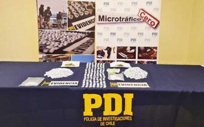 San Vicente: Incautan más de 2 mil papelillos de drogas