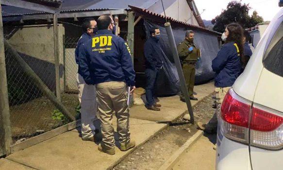 Santa Cruz: PDI investiga homicidio y posterior suicidio