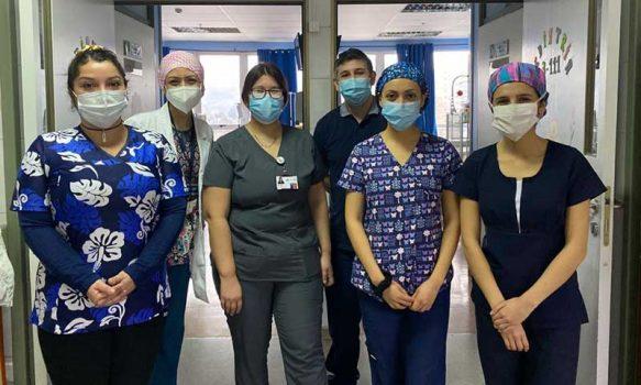 Servicio de Pediatría Hospital Santa Cruz, un valioso aliado contra el coronavirus
