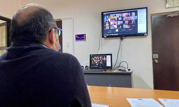 Servicio de Salud O´Higgins detalla acciones del combate al Covid-19 a dirigentes sociales de la región