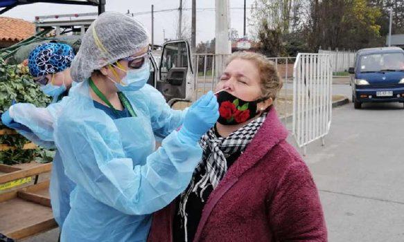 Testeos de pesquisas masivas de PCR continúan en O'Higgins