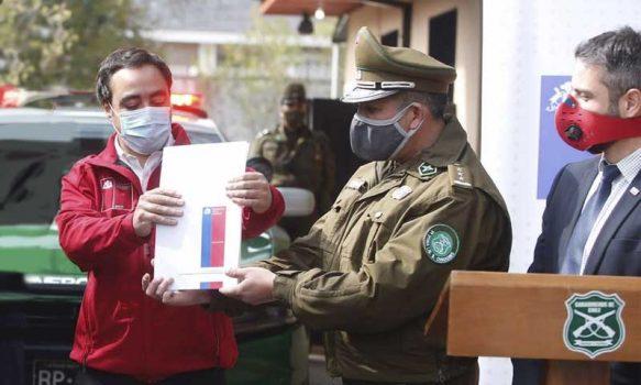 Bienes Nacionales entrega inmueble para Carabineros de Prefectura Cachapoal