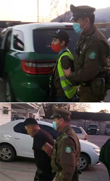 Carabineros recuperó camión robado con 80 millones de pesos en muebles