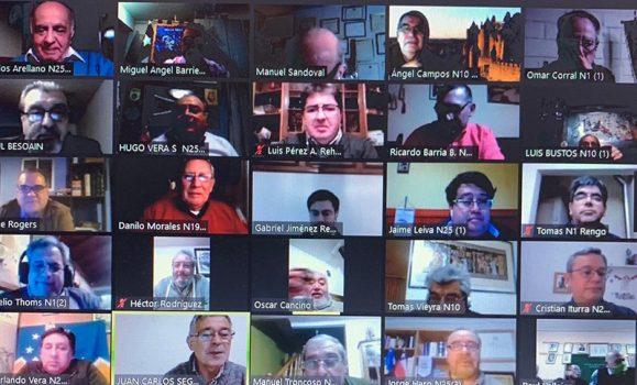 Club Auca participa en primer encuentro nacional virtual