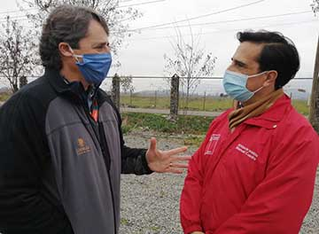 El Teniente organiza búsqueda activa de contagios entre los pequeños mineros de Chancón