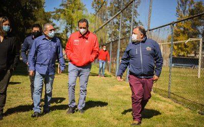 Graneros: Alcalde Segovia y Seremi del Deporte analizan nuevo proyecto estadio para la ciudad