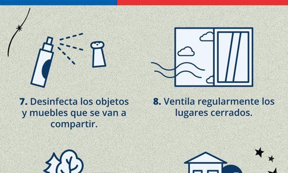 Hospital de Graneros entregó recomendaciones para estas Fiestas Patrias